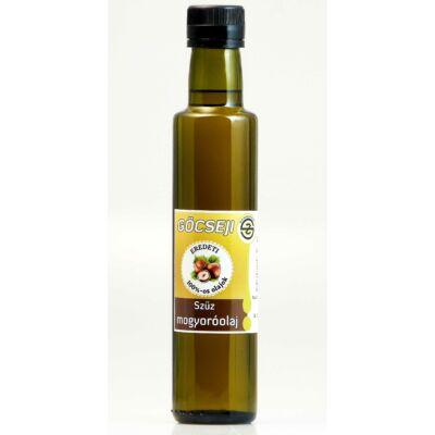 Göcseji mogyoróolaj 0,25l (antik üvegben)