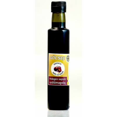 Göcseji szőlőmagolaj 0,25l (antik üvegben)