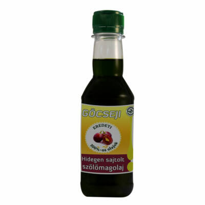 Göcseji szőlőmagolaj 0,2l