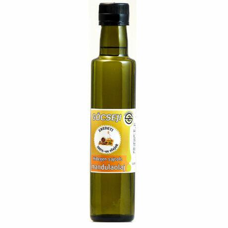 Göcseji mandulaolaj 0,25l (antik üvegben)